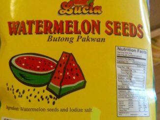 Semințe de pepene la pachet. FOTO Adrian Boioglu