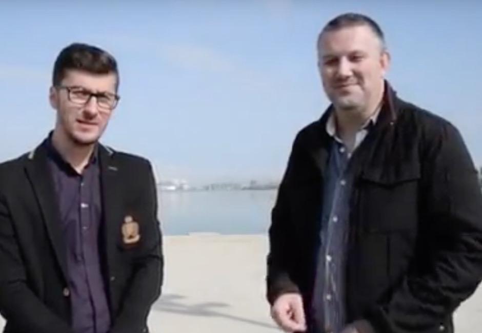 Cristian Tanase si Adrian Boioglu