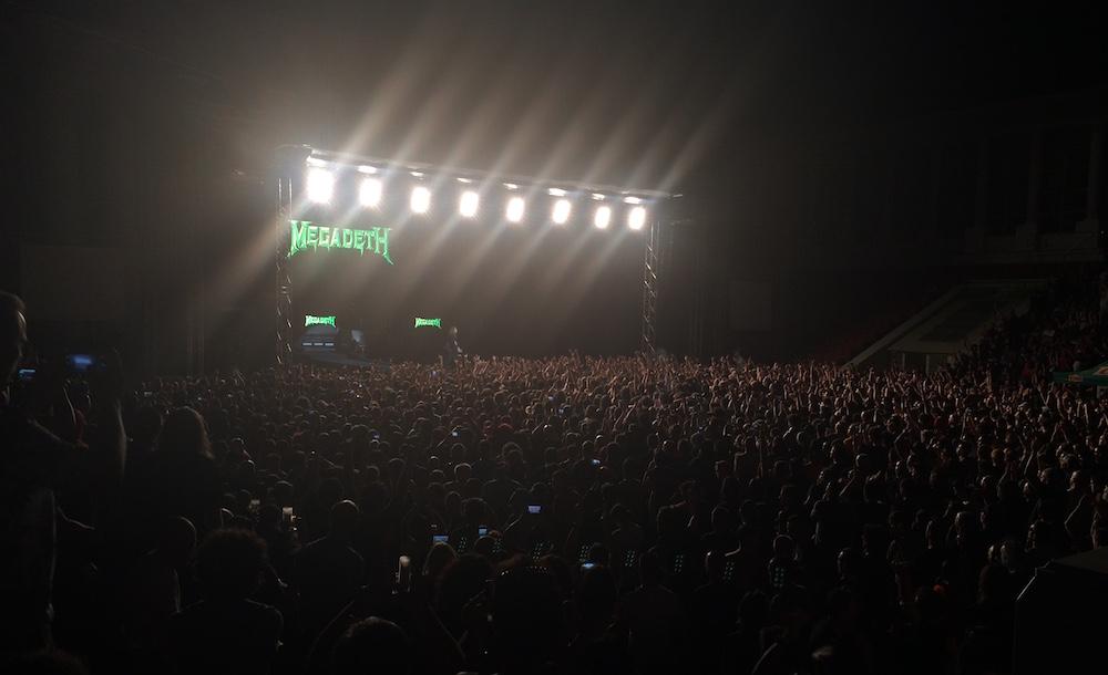 Concert Megadeth la București. FOTO Adrian Boioglu