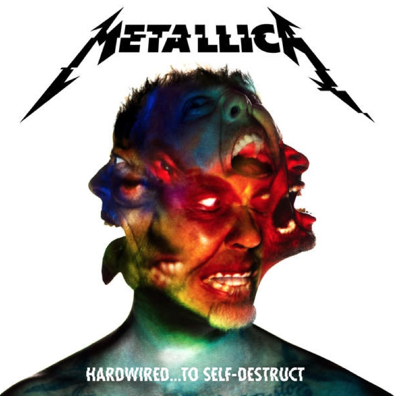"Coperta albumului ""Hardwired to Self-Destruct"" de la Metallica"