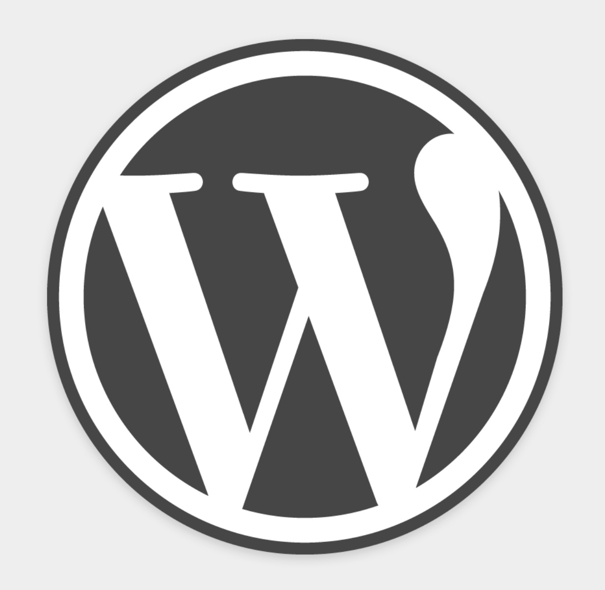 Sigla WordPress
