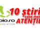 10 Știri care merită atenție, de la boio.ro