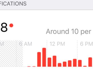Screen Time pe iOS 12