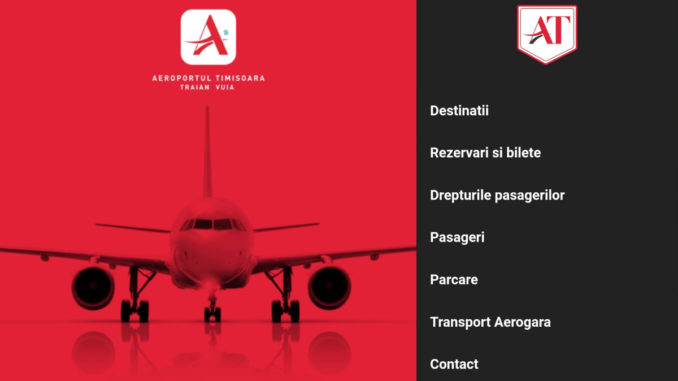 Aplicația AEROTIM