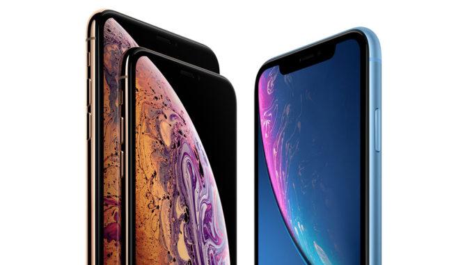 iPhone Xs, Xs Max și Xr. FOTO Apple.com
