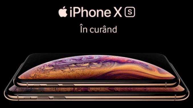 iPhone Xs în România. FOTO vodafone
