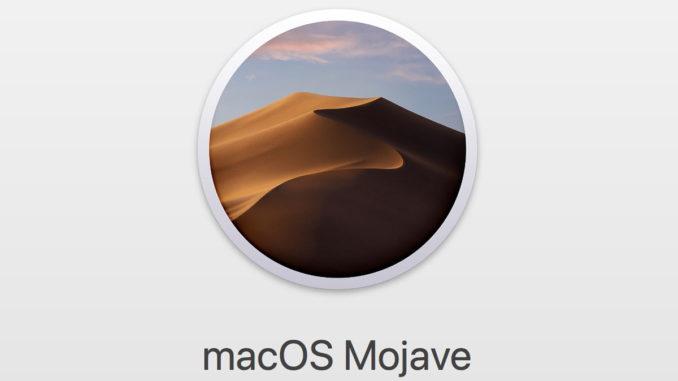 macOS Mojave e aici