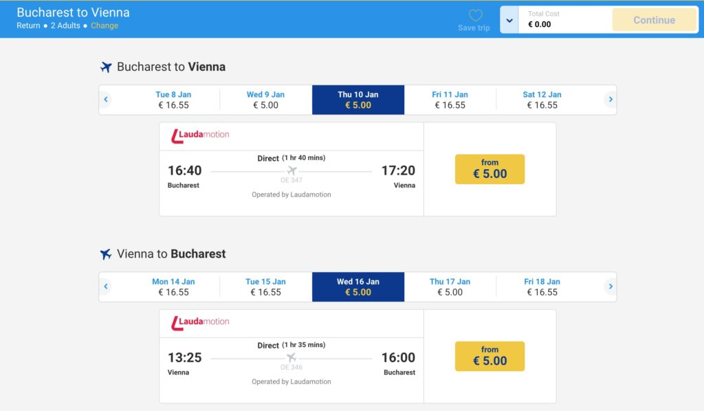 Oferte speciale Ryanair
