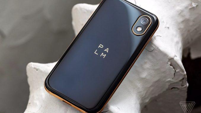 Noul telefon Palm. FOTO theverge.com