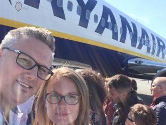 Zbor cu Ryanair. FOTO Adrian Boioglu