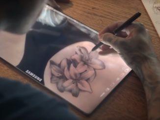 Tabletă Samsung. FOTO Captură video