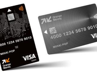 Card Debit de la Orange