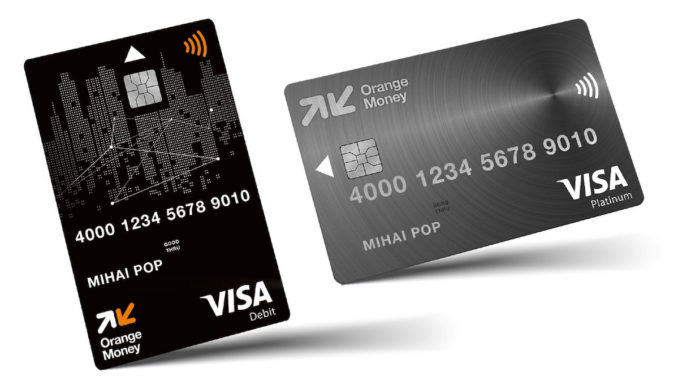 Card Debit de la Orange