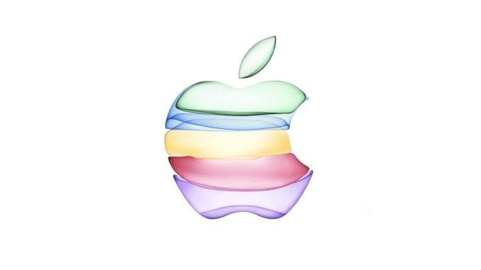 Invitația Apple pentru lansările din septembrie 2019. FOTO Apple