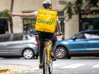 Biciclist Glovo. FOTO Glovo