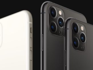 iPhone 11, iPhone 11 Pro Max și iPhone 11 Pro. FOTO Apple