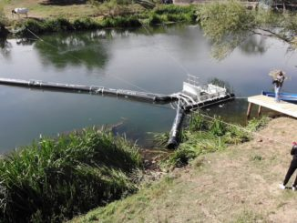 Primul sistem de curățare automată a râurilor, DRAVIR