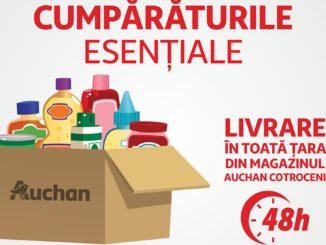 Pachete predefinite Auchan. FOTO Auchan