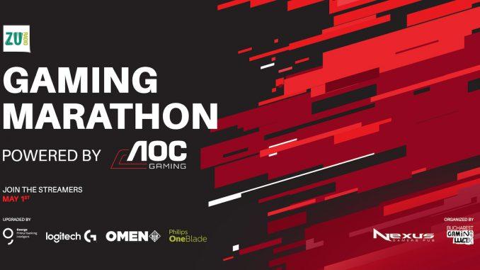 Gaming Marathon de 1 Mai