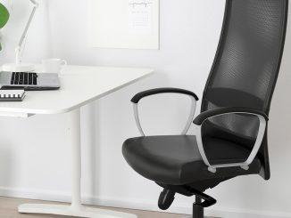 Un scaun comfortabil pentru productivitate maximă. FOTO Ikea Markus