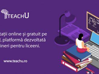 TeachU - meditații gratuite pentru elevi