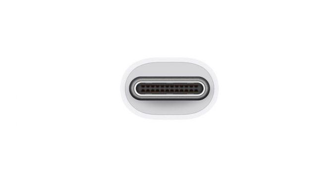 Mufa USB-C de care ai nevoie pentru un MacBook Pro. FOTO Apple
