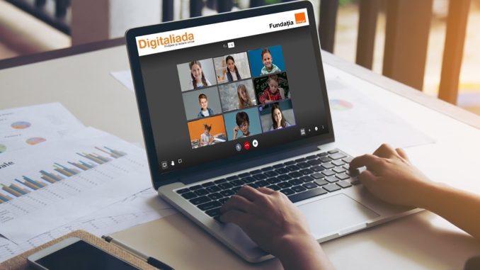Videoconferințe gratuite de la Digitaliada. FOTO Orange