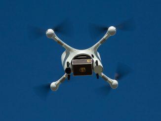 Livrare cu drone. FOTO UPS
