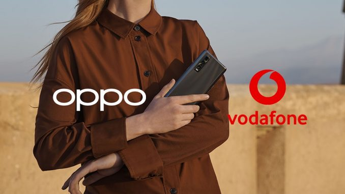 OPPO și Vodafone