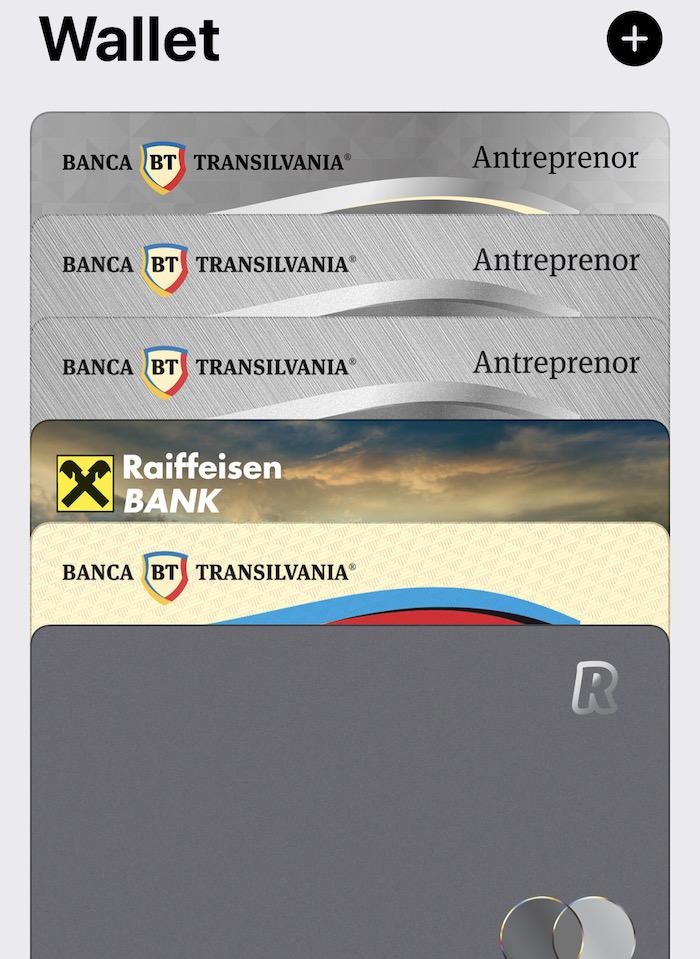 Wallet App pentru iOS