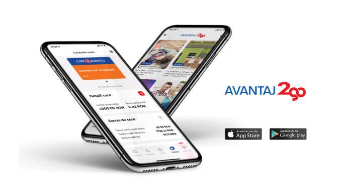 Aplicație smartphone Avantaj2go pentru deținătorii de carduri de credit, FOTO Avantaj2go