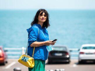 Cântăreața și actrița Aylin Cadîr este primul utilizator Uber din Constanța