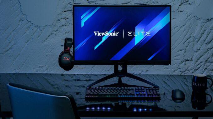 Monitor ViewSonic de gaming ELITE XG270QC, FOTO ELKO