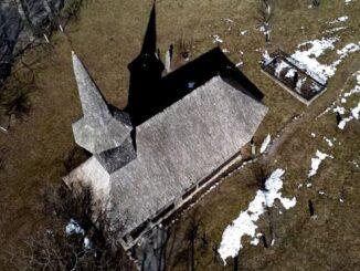 Biserica din lemn - Valea Crișului din Jud. Bihor