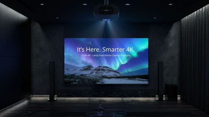 ViewSonic anunță noul produs al seriei X – proiectorul Smart LED X100-4K, FOTO ViewSonic