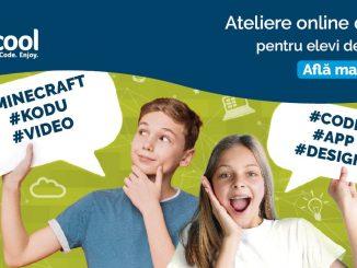 Atelierele Digitale Online pentru copii, FOTO Logiscool