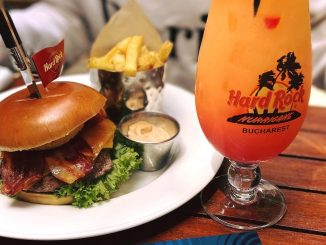 Burger de la Hard Rock Cafe. FOTO HRC