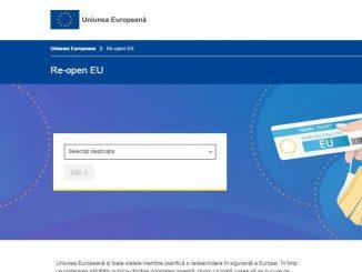 """Platformă web """"Re-open EU"""", dedicată reluării în siguranță a turismului în Europa, FOTO Europa.eu"""
