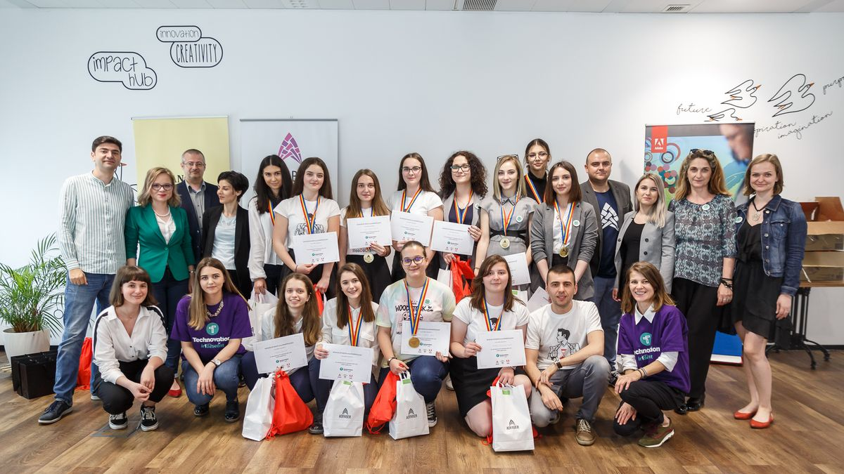 Naționala României la competiția Technovation Girls, FOTO Technovation