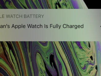 Apple Watch charge notification. FOTO Adrian Boioglu