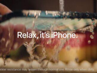 iPhone spălat la chiuvetă. FOTO Captură video Apple